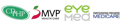 cdphp-mvp-eyemed-medicare-logos